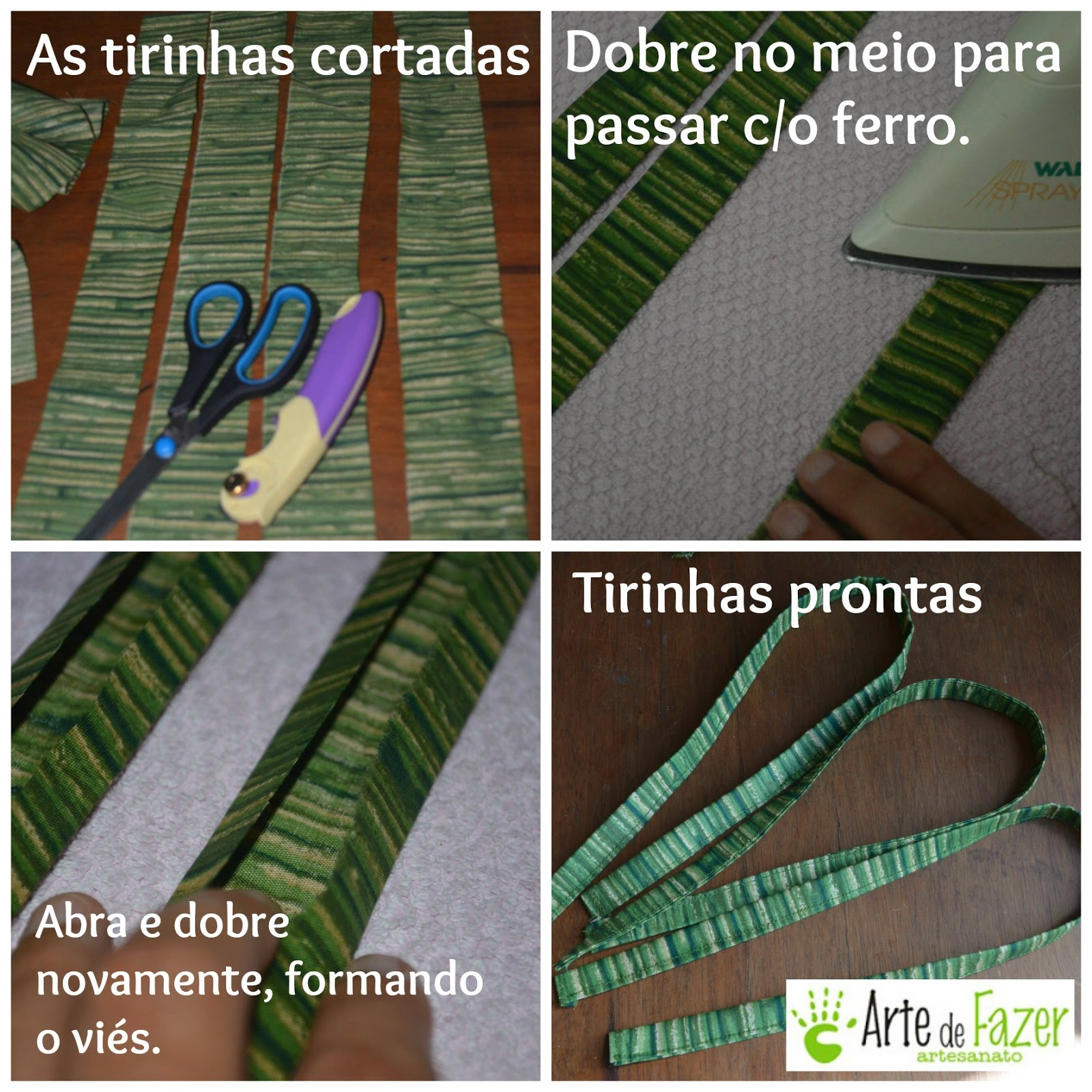 Como fazer as tirinhas da cortina