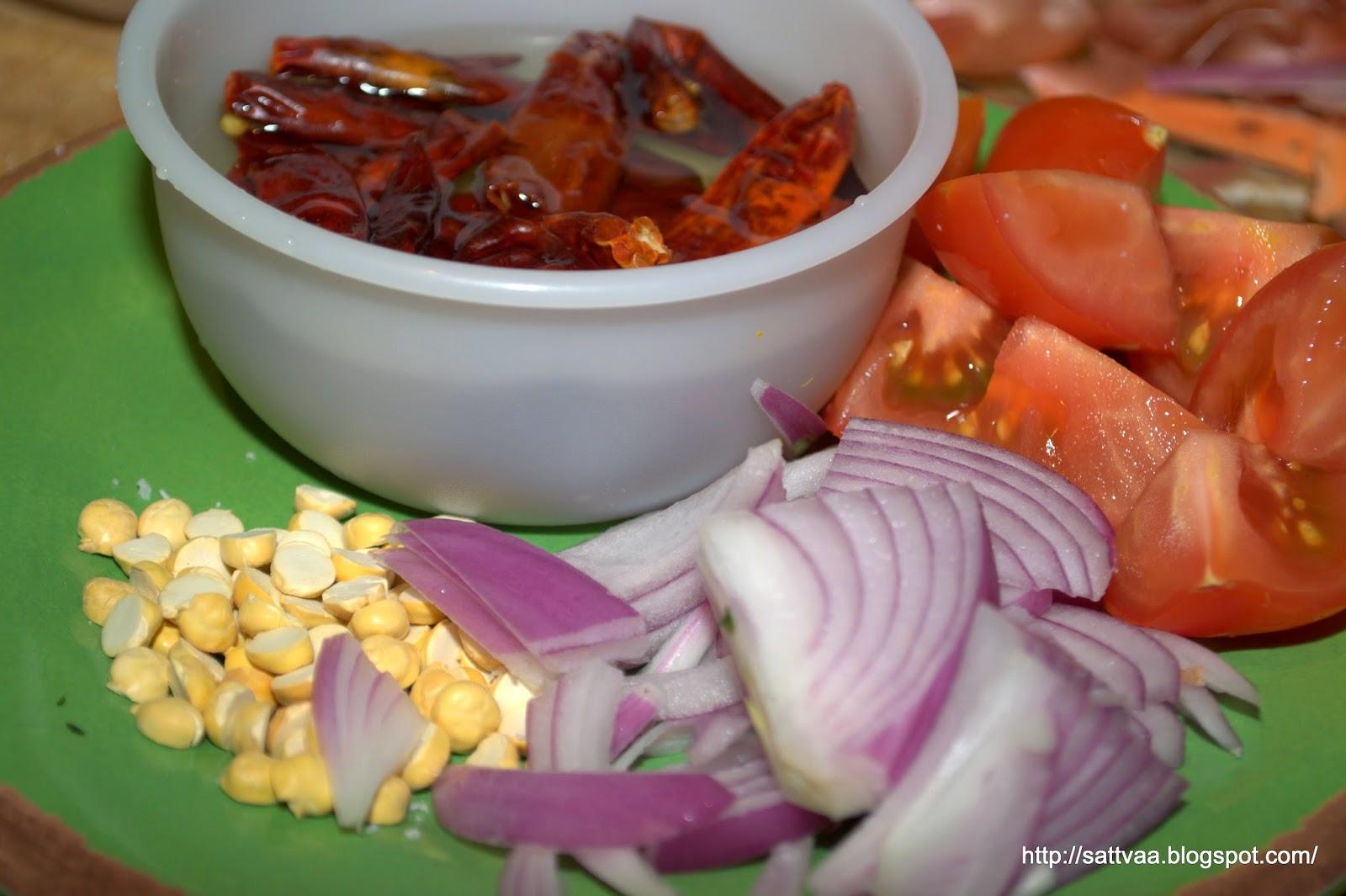 how to make palli chutney for dosa in telugu