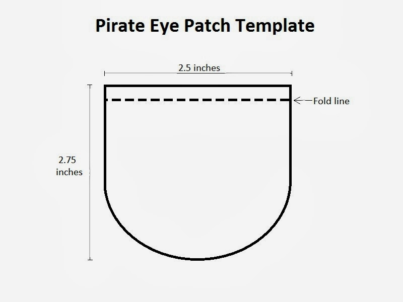 pirate eye patch template choice image template design ideas. Black Bedroom Furniture Sets. Home Design Ideas