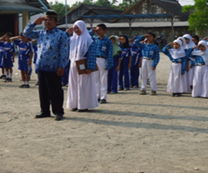 Upacara Hari Kesaktian Pancasila di Desa Ngrejeng