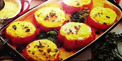 recetas vegetarianas tomate y patatas con queso