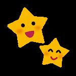 天気のマーク「星空」