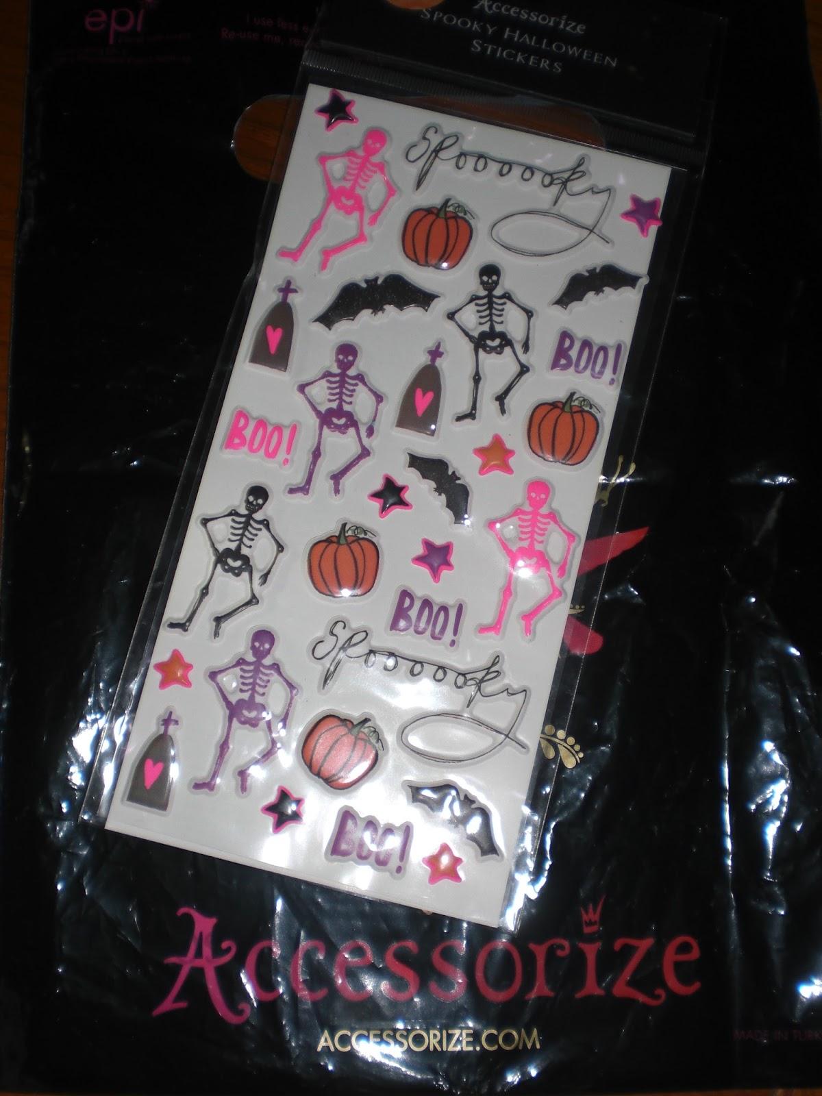 Da Accessorize Le Cose Di Halloween Erano Scontate Al 50% E Io Ho Deciso Di  Prendere Questi Stickers In Tema Davvero Molto Carini.