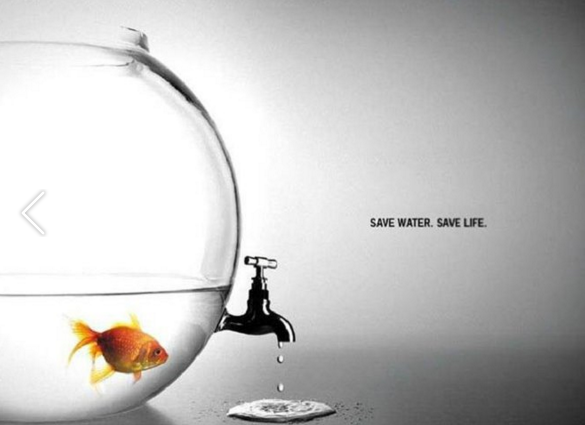 Save water. Save life