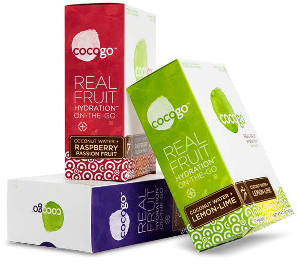 You could win a box of Cocogo. Real Fruit Hydration. Join my birthday party today!