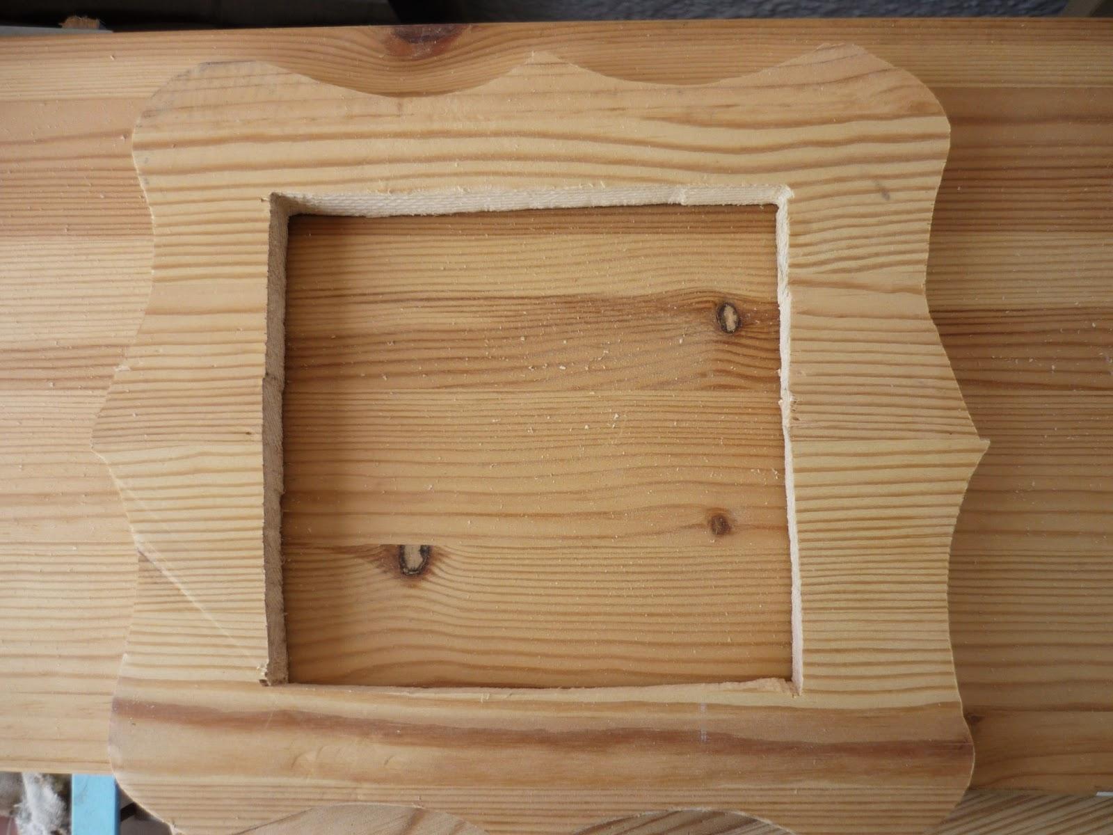 Restauracion y decoracion de madera marco de madera - Marcos de madera para decorar ...