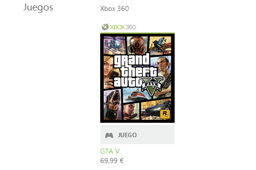 Ya esta disponible GTA V en Xbox Live