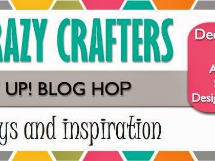 Crazy Crafter's December Blog Hop - Designer Series Paper
