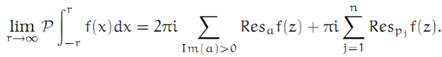 Complex Analysis: #18 Integrating across a Pole equation pic 5