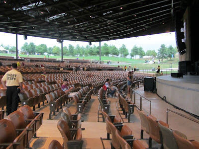 Photo of lower level seating at Bethel Woods