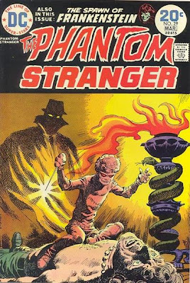 Phantom Stranger #29, evil Devil Dolls of Dr Z