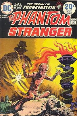 Phantom Stranger #29, evil Devil Dolls of Dr Z