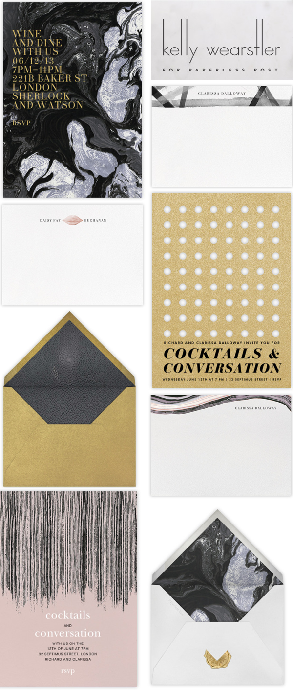 kelly wearstler stationery