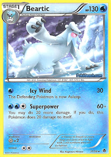 Beartic 31/98 Pokemon Card Emerging Powers set
