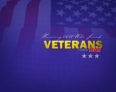 Free Veterans Day PowerPoint Background 8