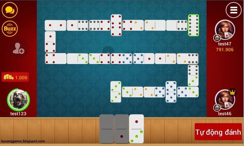 Cách chơi cờ Domino trong iwin online