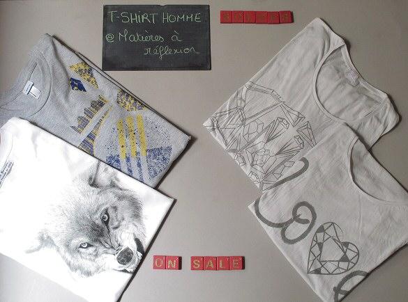 Soldes t-shirts duette design et lala berlin