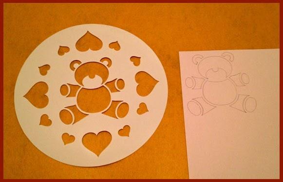 Mi rinc n del mediterr neo cocina idea plantilla para decorar bizcochos o tartas - Plantillas de decoracion ...