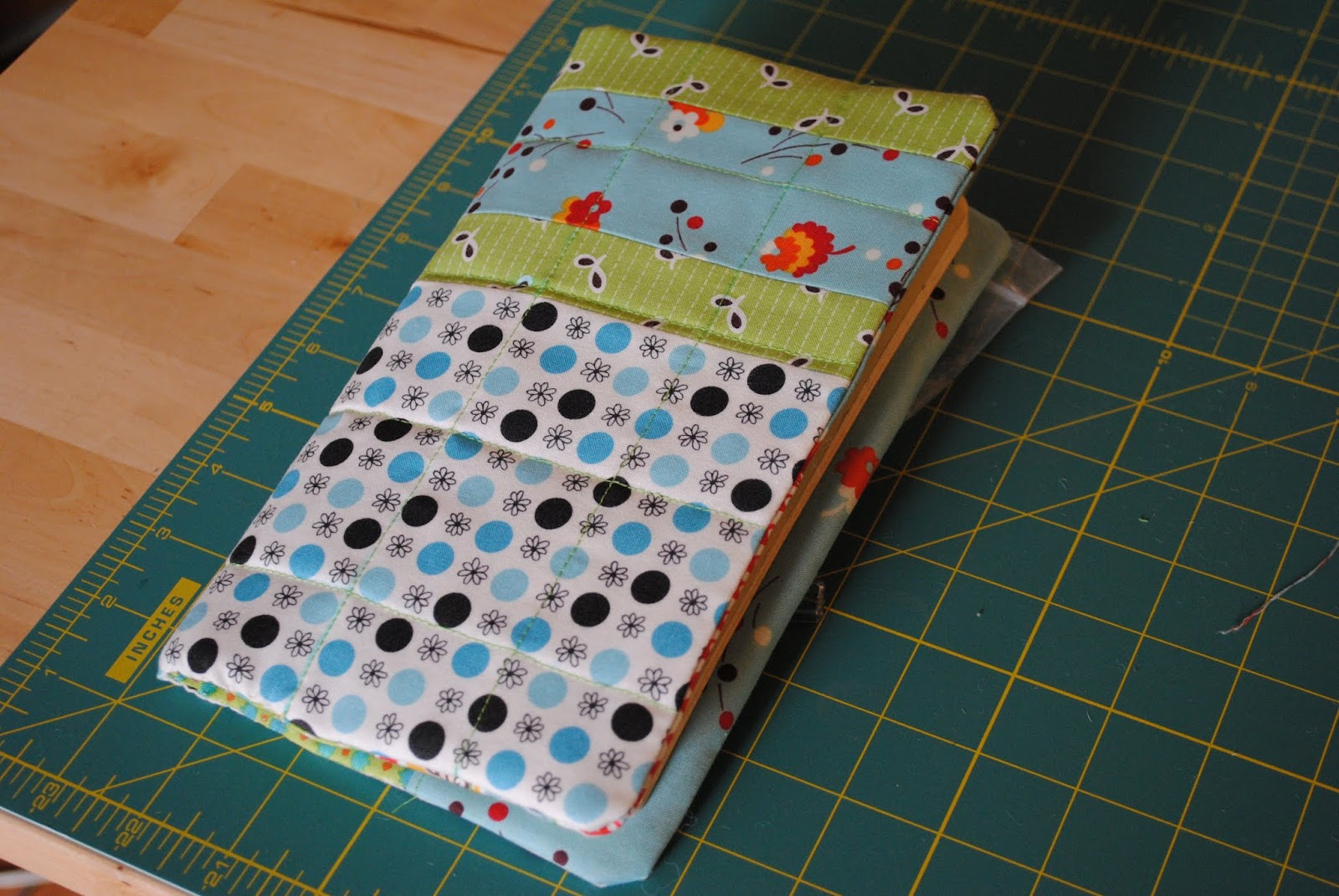 flea market fancy notebook cover- closed