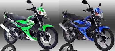 Kawasaki Athlete 2012 Green Blue