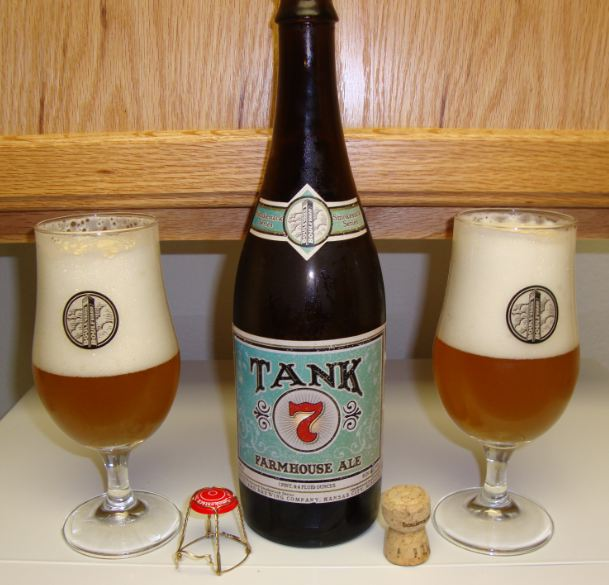 Memoirs of Mikey December 2nd Boulevard Tank 7 Farmhouse Ale