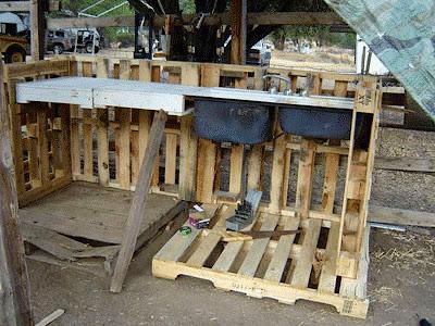 Como construir un rinc n de trabajo for Mueble bar exterior