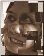 mosaico de cacos