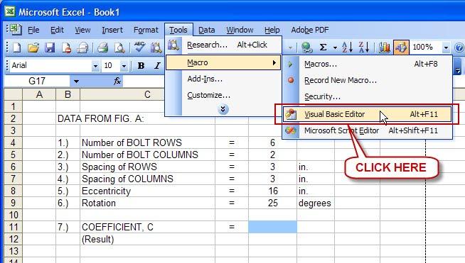 Spreadsheet Tools Engineers