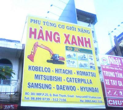 Pano, bang hieu, bảng hiệu
