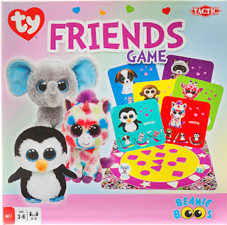 Tactic Games' Beanie Boos Friends Game #tacticgames