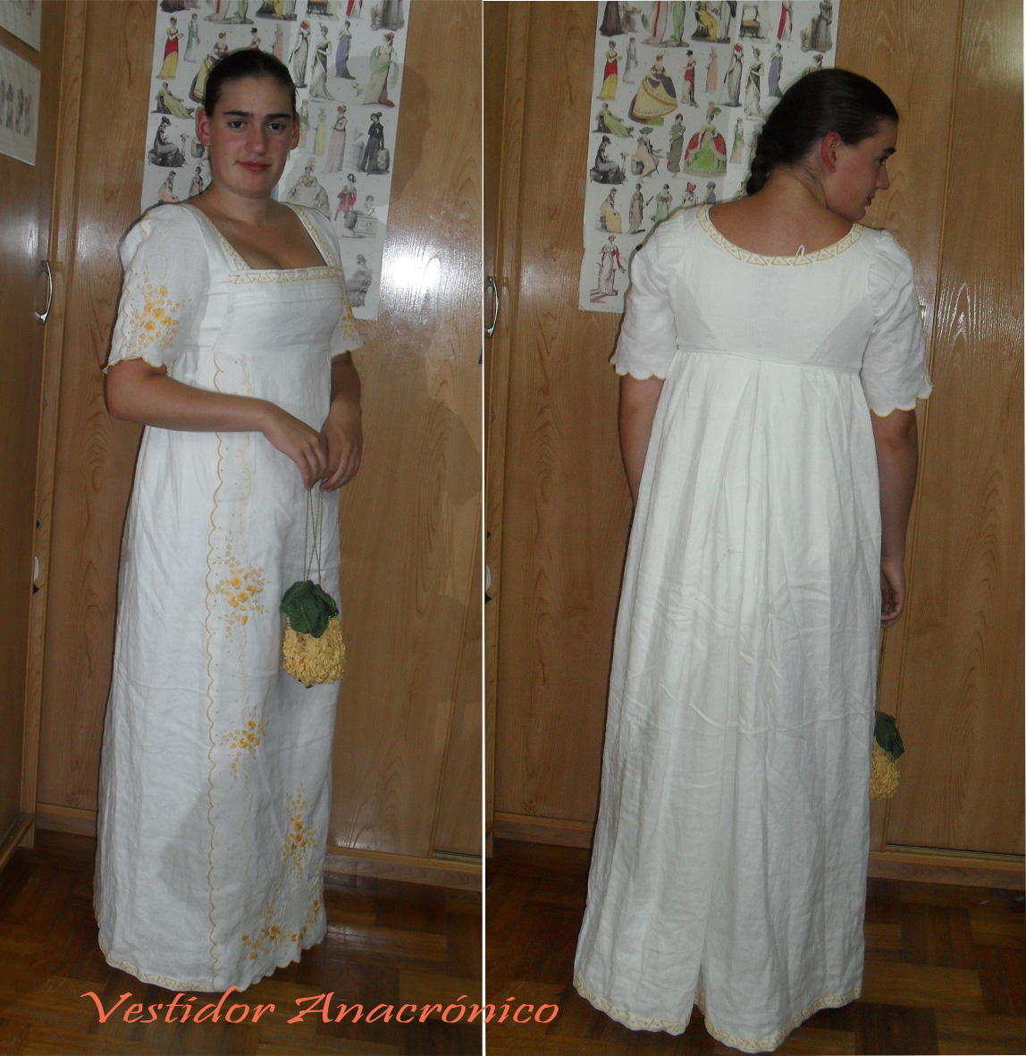 Hre you can see the photos of my first regency dress. In this case I ...