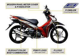 Supra X 125 Helm in PGM-FI - dwijayasblog.blogspot.com