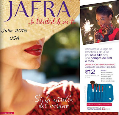 Jafra USA Catalogo de Julio 2015