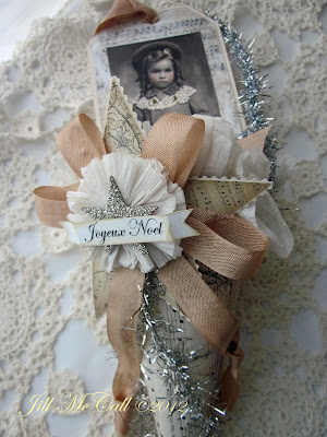 Victorian Christmas Paper Cones~ Jill McCall 2012 Feathers and Flight