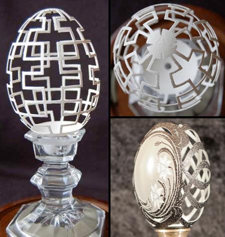 egg08 Seni Ukiran Di Cangkang Telur