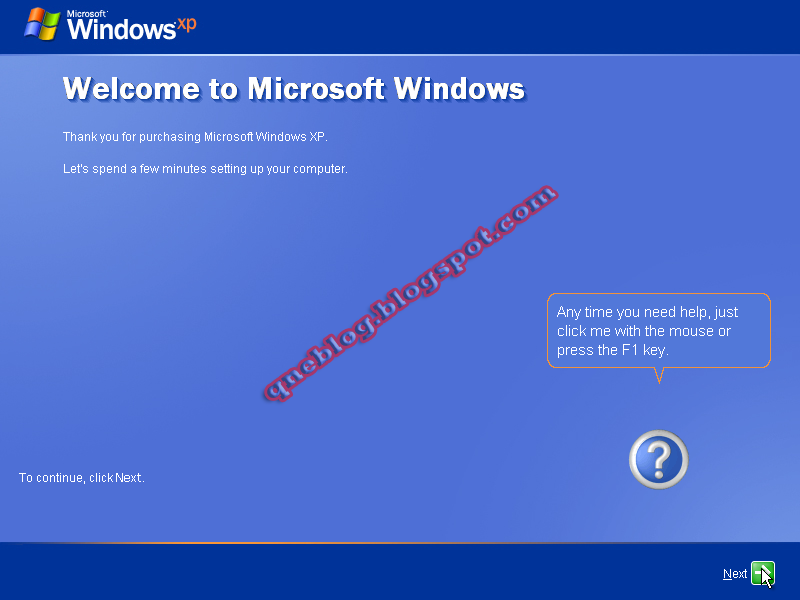 Formatting a Computer and Install a fresh copy of Windows XP