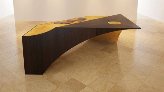 cozinha futurista design de móveis tabela
