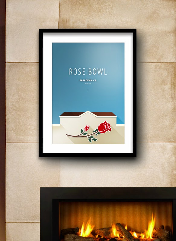 Rose Bowl art
