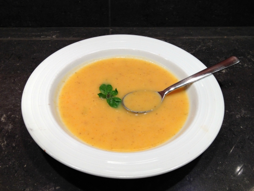 Creamy Potato and Carrot Soup - Kim's Welcoming Kitchen