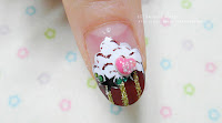Self Nail Art, Ice Cream Nail Art! Sweet 3D ice Cream Nail parts