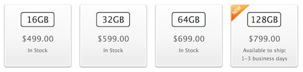 iPad 128GB Online