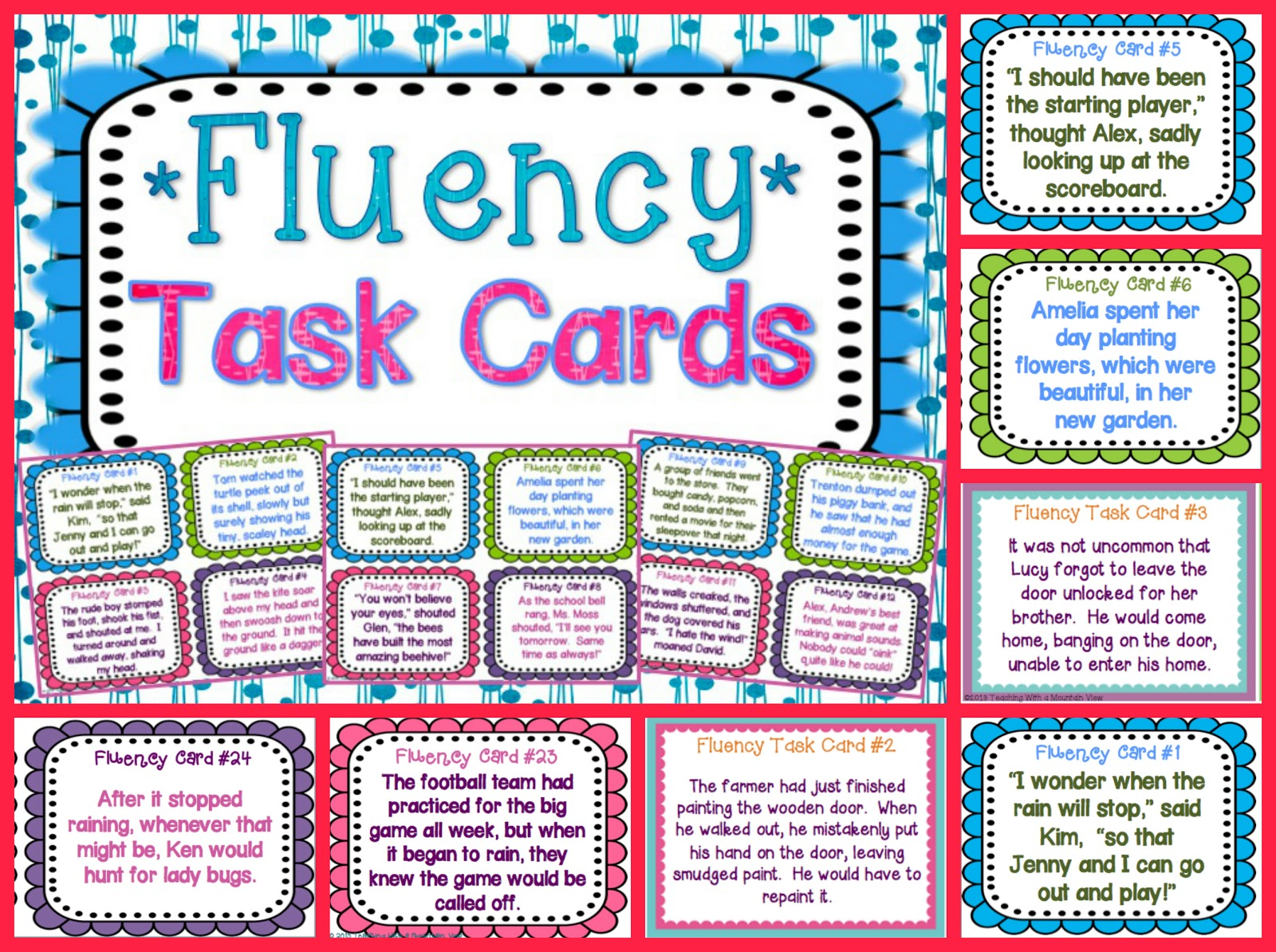 Crafty image regarding printable reading fluency games