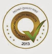 Premio Quality Perú 2013