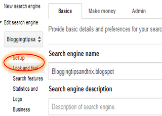 putting search results page