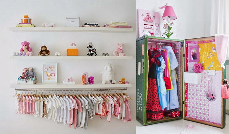 Ideas b sicas para decorar el dormitorio infantil perfecto for Roperos para cuartos de ninas