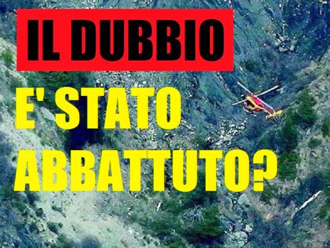 Informati italia aereo precipitato non si pu scartare - Si puo portare l ombrello in aereo ...