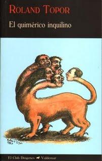 Topor Roland El quimerico inquilino cabezas cuerpo de leon bestia