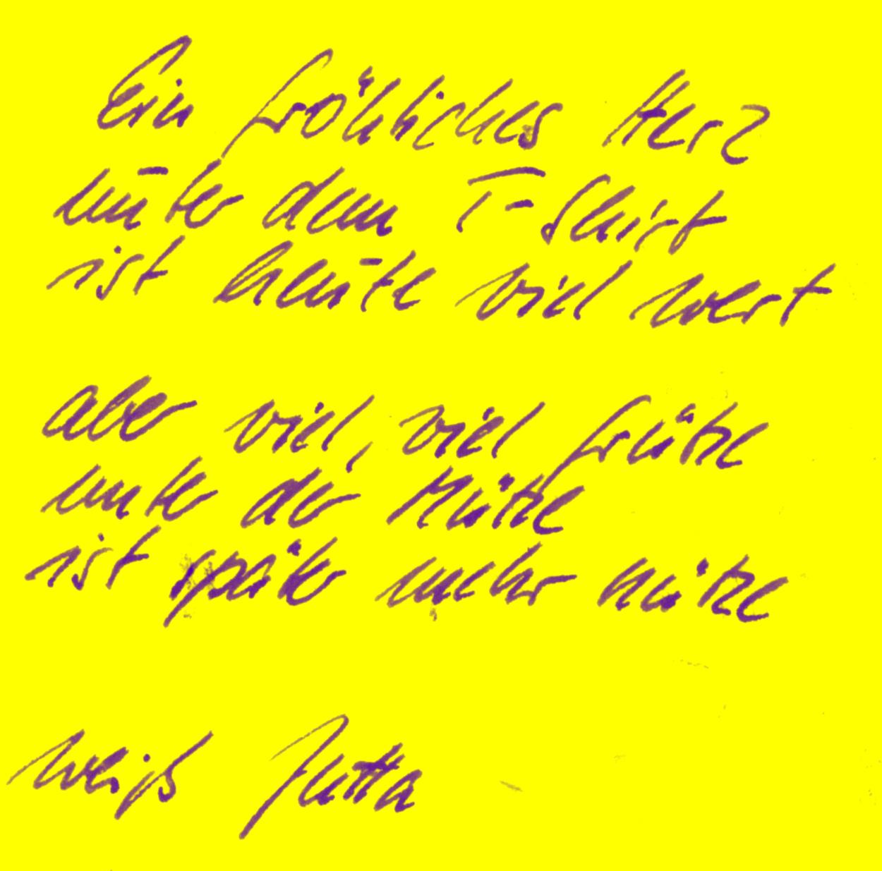 Poesiealbum Die Spruche Die Botschaften Fur S Leben Lyrikheute
