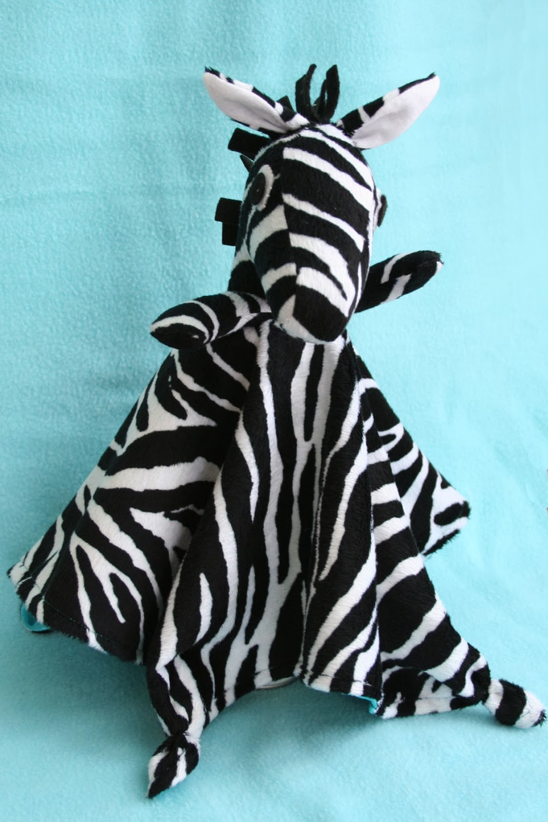 Tangible Pursuite: Zebra Lovey Sewing Pattern