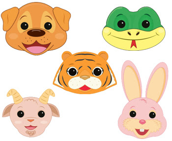 Animal Masks to Print